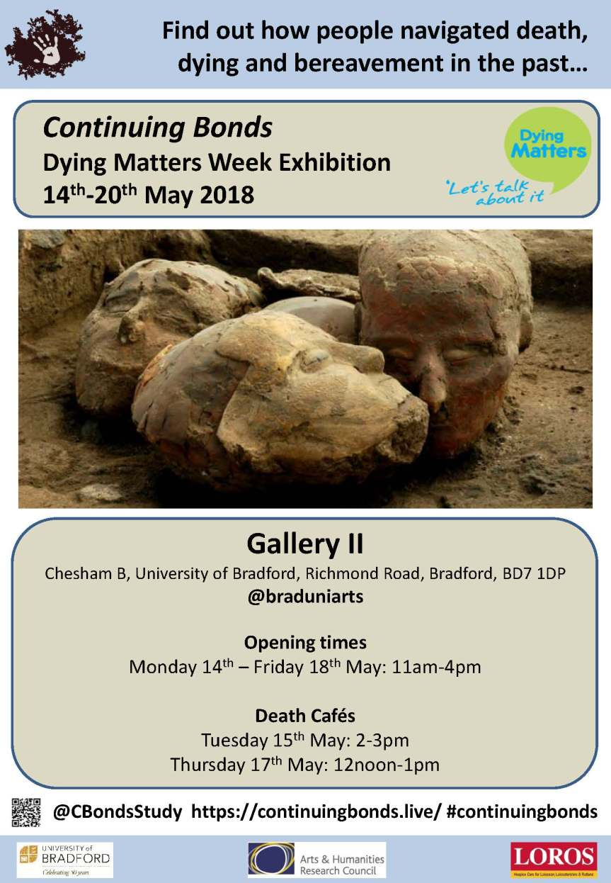 Continuing Bonds Exhibition (Gallery II, 14th-18th May 2018)